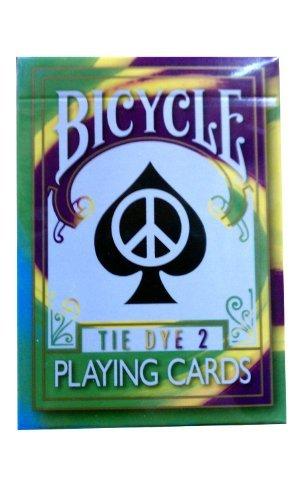 zweite Edition selten Fahrrad Tie Dye 2 Deck Spielkarten Tye sterben Magic 2nd Edition Rare Bicycle Tie Dye 2 Deck Playing Cards Tye Die Magic -