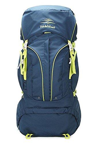 sac à dos randonnée escalade extérieur sac sac à bandoulière hommes et les femmes de camping voyage Sacs à dos de randonnée ( Couleur : Bleu , taille : 60 l )