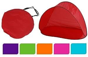 Tente Pop up ouverture automatique - 6 coloris - Tente de plage - camping