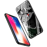 LiangChu 9h Le Verre trempé iphone 7/8 Cas, LC-6 Naruto Kakashi Type Naruto Anti - zéro Soft Silicone Conception Impression antisismiques pour Apple iphone sur téléphone tpur 7/8