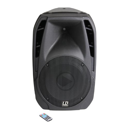 LD Systems LDPLAY15A Play Serie 38,1 cm (15 Zoll) PA Lautsprecher aktiv mit MP3 Player (Ld-player)