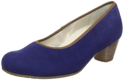 Semler Celine C2200040072, Scarpe col tacco donna, Blu (Blau (aqua 072)), 40