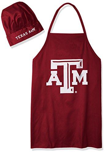 Pro Specialties Group NCAA College Herren Kochmütze und Schürze, Herren, Texas A&M Aggies, Full Color Team Logo, Einheitsgröße -