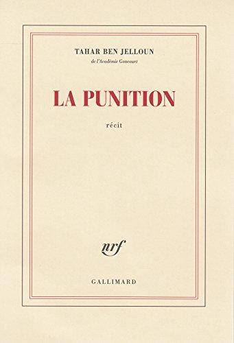 La punition (Blanche) por Tahar Ben Jelloun
