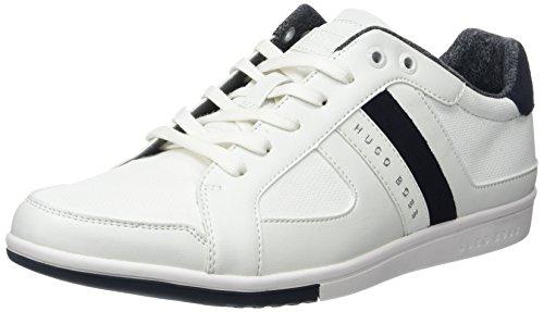 Boss Green Metro_tenn_cvc 10197557 01, Sneakers Basses Homme Blanc (White 100)