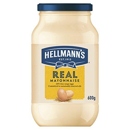 Hellmann\'s Real Mayonnaise 600g - Amerikas Nr. 1