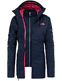 North Face W MORTON TRICLIMATE JACKET - Chaqueta, Mujer, Azul - (URBAN NAVY)