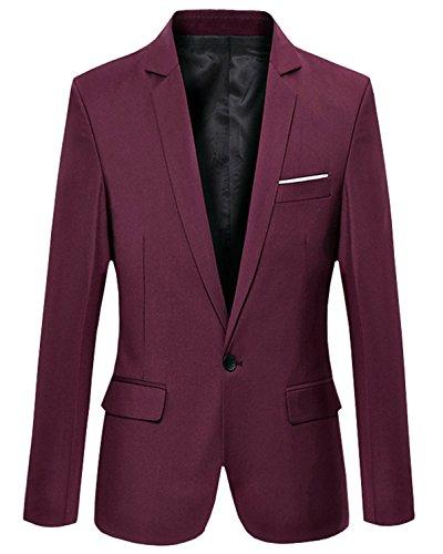 Aiffer -  Pantaloni da abito  - Uomo rosso vivo