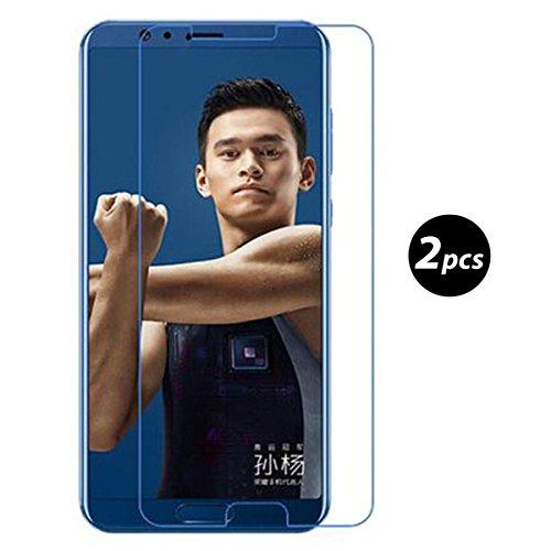 Preisvergleich Produktbild (2 Pack)Huawei Honor View 10 Panzerglas - EUGO 9H Gehärtetem Glas Schutzfolie Displayschutzfolie Panzerglas für Huawei Honor View 10