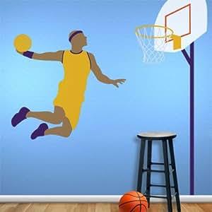 Basketball pochoirs muraux Motif?-Ballon de Basketball-Ballon de Basketball-pièce