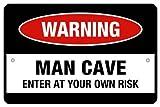 #4: Posterboy 'Warning - Man Cave' Poster
