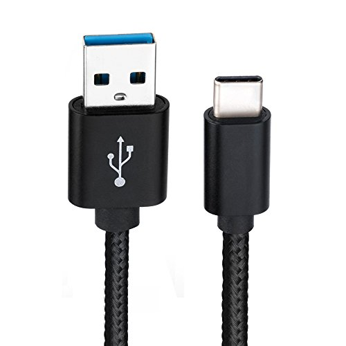 Nintendo Switch Ladekabel, 6amLifestyle USB 3.0 Typ C (USB zu C) Ladekabel für Nintendo Switch Game Pad (2M, Schwarz)