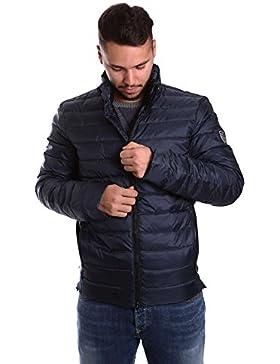 Emporio Armani EA7 cazadoras chaqueta de hombre plumíferos chapucha nuevo negro