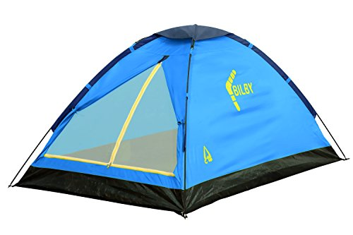 Best Camp Zelt Bilby 2 hellblau/dunkelblau,