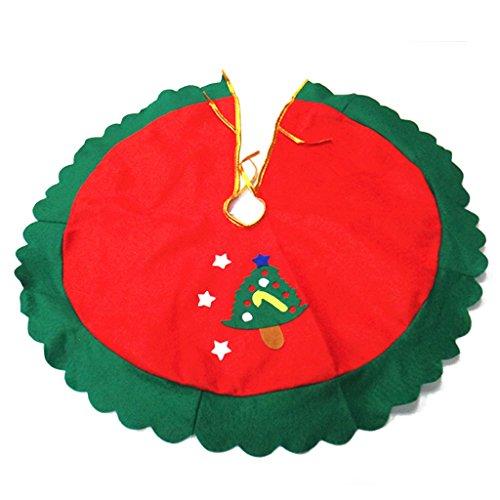 60cm Falda Decoración Estrella Árbol Navidad
