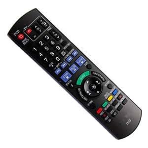 PaNASONIC TÉLÉCOMMANDE POUR LECTEUR DVD COMPaTIBLE AVEC DMR-EH68, DMR-EH770, DMR-EH57, DMR-EH58, DMR-EH58EP-K-REPLACEMENT
