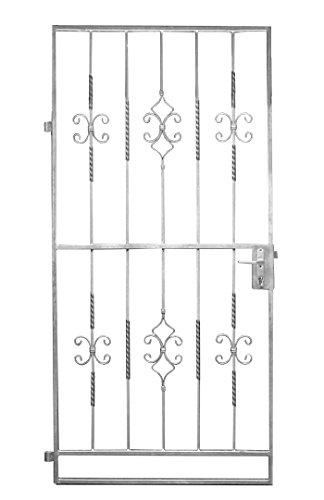 Gartentor Metalltor Eingangstor Karat Rechteck 960x1990 mm