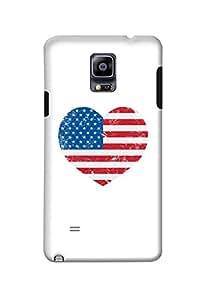 Samsung Galaxy Note 4 Case Kanvas Cases Premium Quality Designer 3D Printed Lightweight Slim Matte Finish Hard Back Cover for Samsung Galaxy Note 4