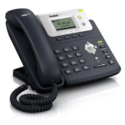 Yealink SIP-T21P E2 Telefono VoIP, Nero