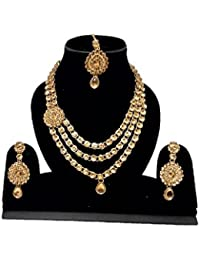 ARP Traditional Party Wear Long Necklace Set For Women & Girl