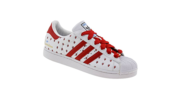 Disciplina Costa Altoparlante  Adidas Superstar 35th Anniversary Cities Series #23 London, US Men size:  12: Amazon.co.uk: Shoes & Bags