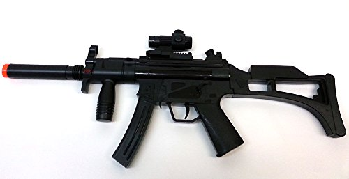 Brigamo 08010 - Elektrische Maschinenpistole MP5 inkl. Schußgeräuschen thumbnail