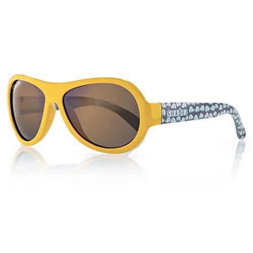 shadez Trendy Sonnenbrille Jungen, gelb