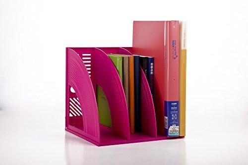 jlysheng Supporto di file creative forniture per ufficio 3 piccola scatola di archiviazione del file nella casella file file di colonna Basket