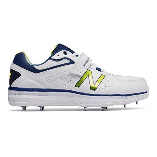 New Balance 2017Ck4040N3de cricket de bowling pour chaussures Blanc