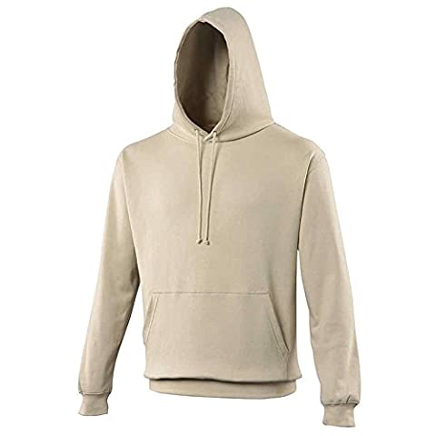 JH001 Men's AWDis College Hoodie Kangaroo Pouch Pocket With Hidden