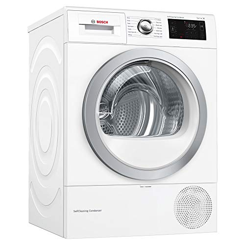 Bosch WTWH7660GB Freestanding A++ Rated Condenser Tumble Dryer in White