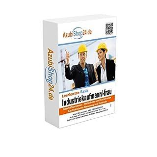 Industriekaufmann Prüfungsvorbereitung Industriekauffrau Prüfung Lernkarten Prüfungswissen Industriekaufmann Prüfung: Prüfungsvorbereitung Industriekaufmann / Industriekauffrau Prüfung AzubiShop24.de