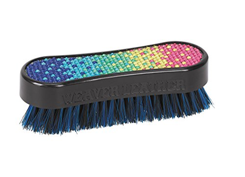 Weaver Leather Bling Face Brush, Rainbow Gradient