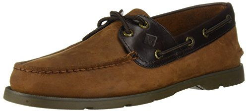 Sperry Top-Sider Leeward 2 Eye Boat Shoe,Brown,8 M US Eye Moc