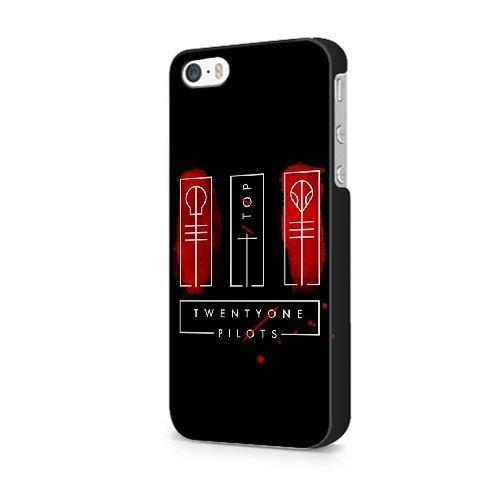 iPhone 5C coque, Bretfly Nelson® VALENTINO ROSSI Série Plastique Snap-On coque Peau Cover pour iPhone 5C KOOHOFD911725 TWENTY ONE PILOTS TOP CLIQUE BLURRYFACE - 018