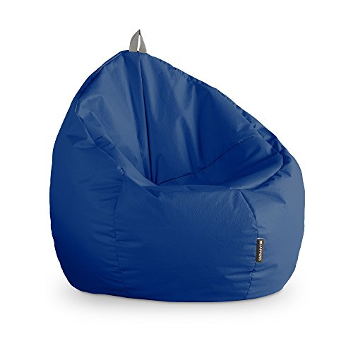 HAPPERS Puff Junior Polipiel Outdoor Azul