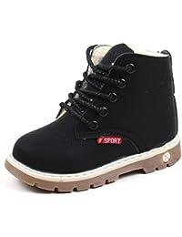 Toamen Children Shoes, Children Autumn Winter Fashion Boys Girls Warm Sneaker Boots Kids Baby Casual Shoes