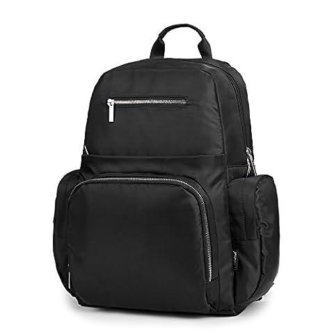 Windel-Tasche von Airkoul Unisex Multifunktions-Windel-Rucksack Mama-Baby-Tasche mit Isolierter Tasche, Große Kapazität
