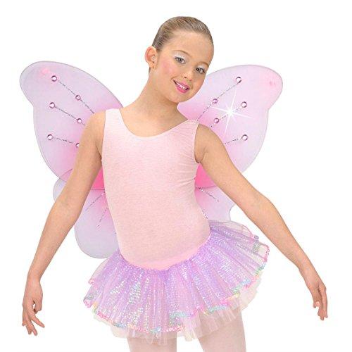 (Rosa Feenflügel Feen Flügel pink 50 x 40 cm Schmetterling Flügel Elfenflügel Schmetterlingsflügel Fee Elfe Kostüm Zubehör)