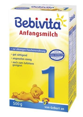 Bebivita 1 Infant Formula - dalla nascita, 5-pack (5 x 500g)