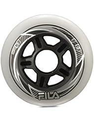 Fila Wheels 84 mm/82 a X 8 rollos, color blanco