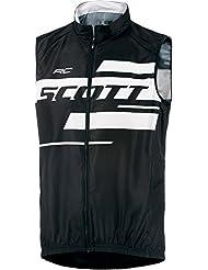 Scott RC Team 10 Fahrrad Windweste schwarz/weiß 2017