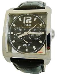 Guess Herren-Armbanduhr Analog Quarz Leder W13593G1