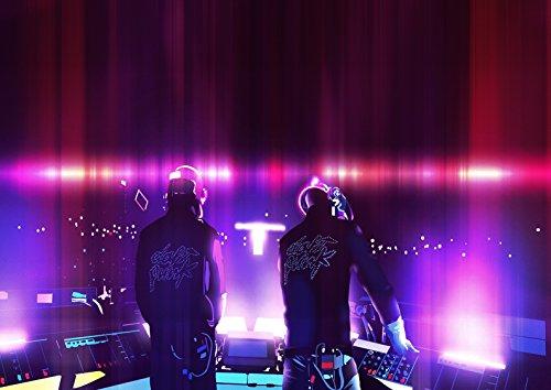 My Little Poster Poster Daft Punk Mix DJ Party Wand Kunst (Daft Punk-aufkleber)