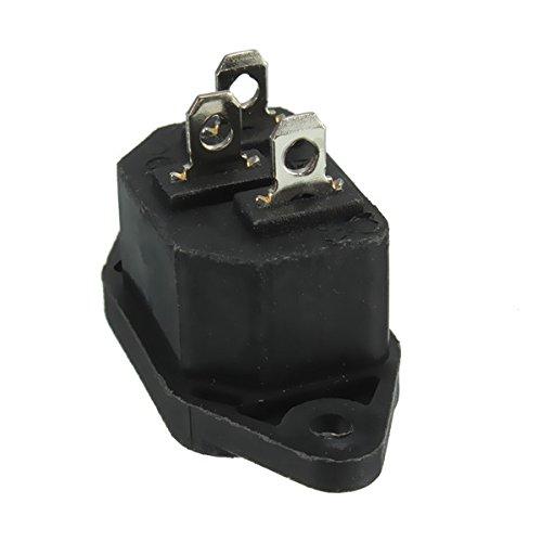 Generator Power Inlet (DyNamic Ac 250V/10A Iec320 C14 Male 3Pin Power Inlet Panel Mounting Power Inlet Sockel)