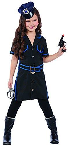 Polizistin Kinder Kostüm für Mädchen Cop - Cop Kind Kostüm Mädchen