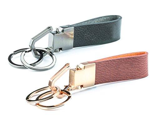 Preisvergleich Produktbild JAN VAN BOTEN ® Schlüsselanhänger Liebe für Partner mit Gravur –Geschenk für Paare