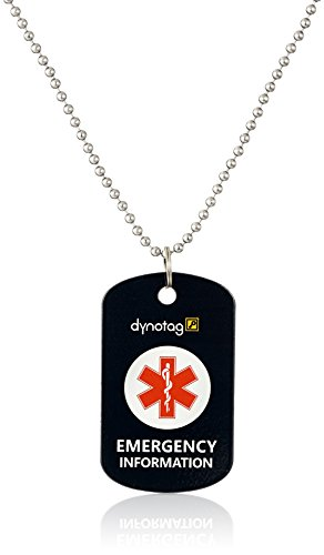 dynotag-web-gps-enabled-qr-smart-military-style-medical-emergency-info-deluxe-steel-pendant-and-chai