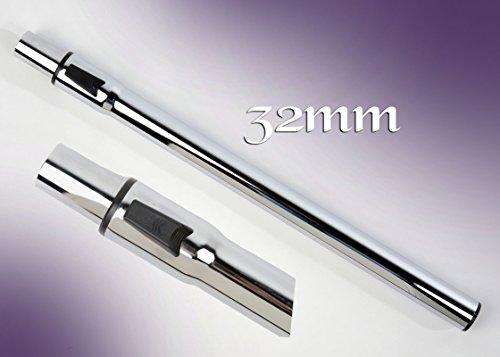 staubshop24-TELESKOPROHR/SAUGROHR geeignet 32mm für AEG/ELECTROLUX/PRIVILEG/PROGRESS/NILFISK