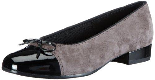ara Bari, Scarpe peep toe donna grigio (Grau (schwarz,mineral 09))